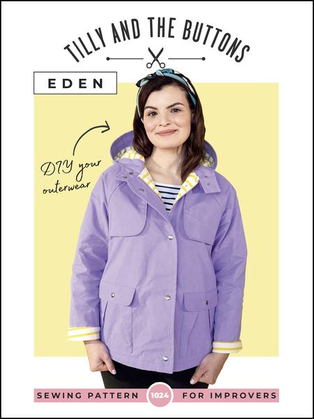Eden Jacket by Tilly and the Buttons