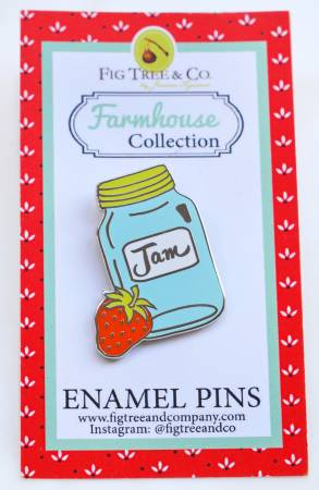 Enamel Pin: Jam Jar