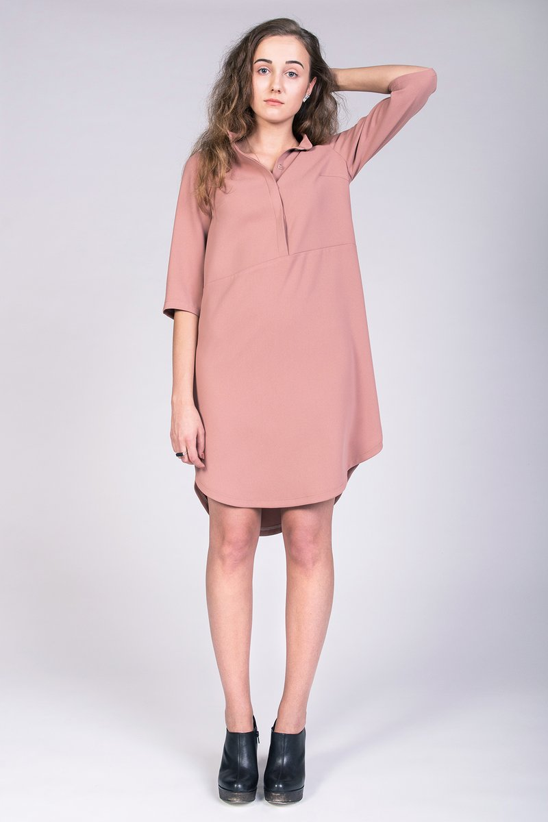 Helmi Trench Blouse and Tunic Dress