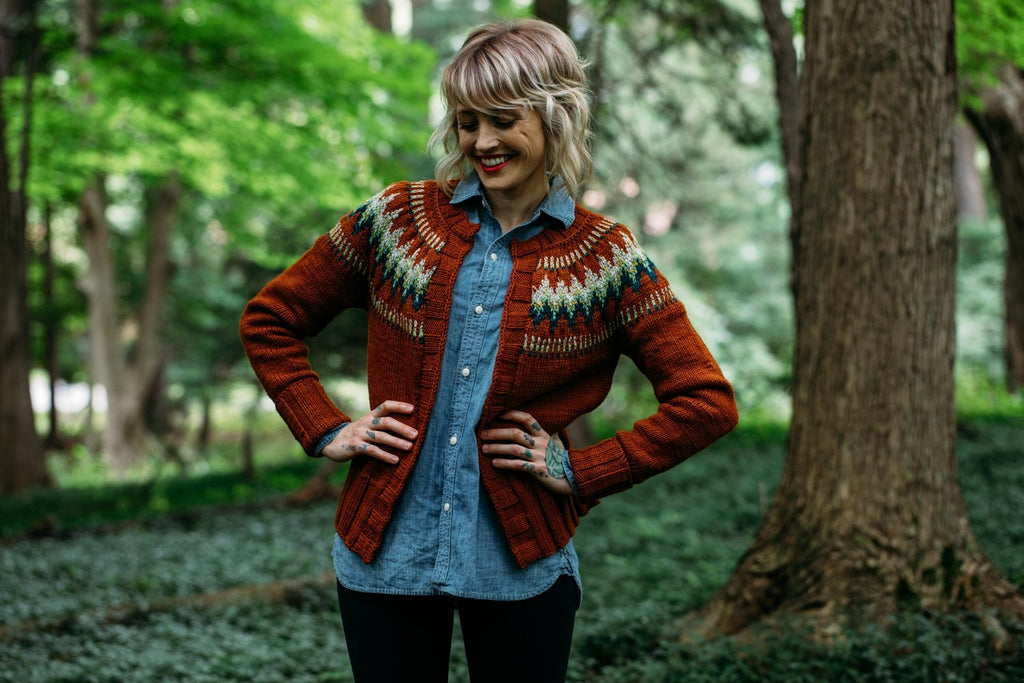 The Throwback - Printed Pattern by Drea Renee Knits