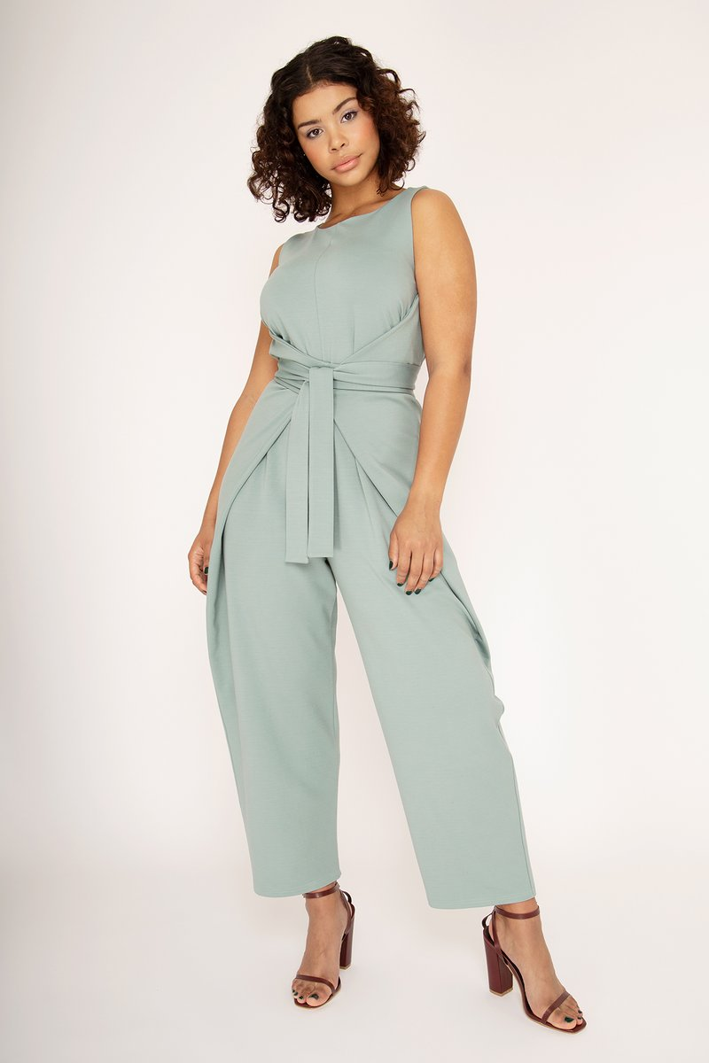 Kielo Wrap Dress and Jumpsuit