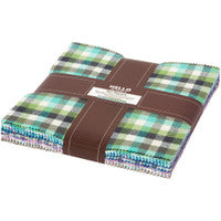 Mammoth Junior Flannel Ten-Square Pack Cool Color Story