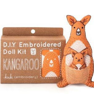 Kangaroo Embroidery Kit