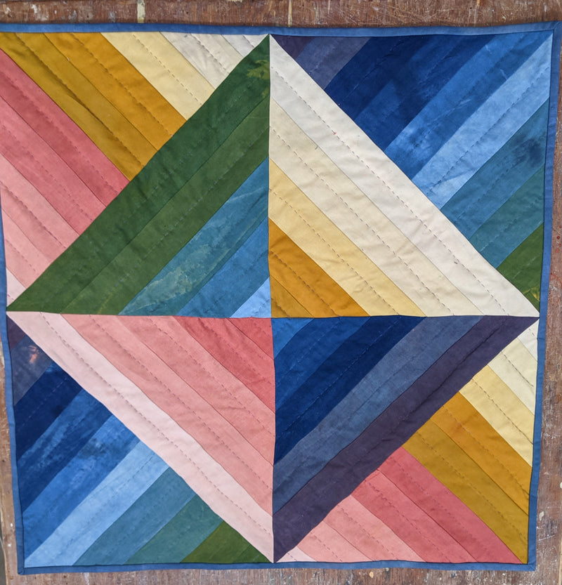 Hand Dyed Heirloom Quilt