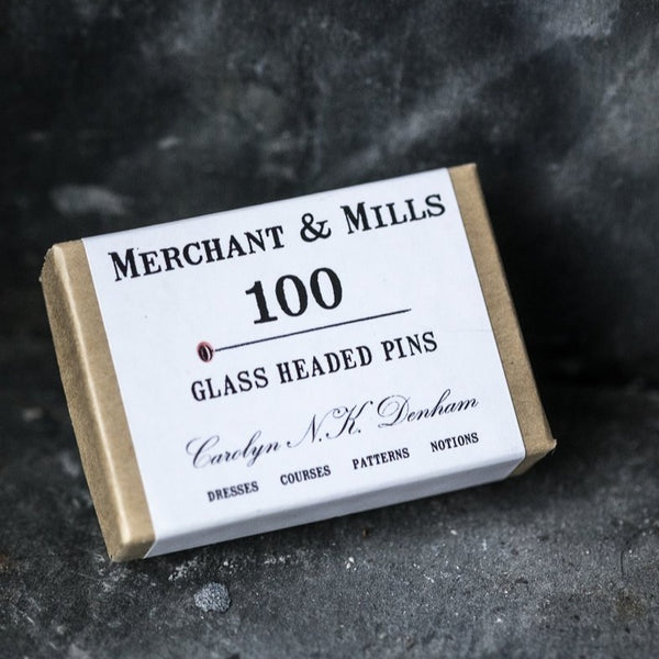 Merchant & Mills Glass Head Pins