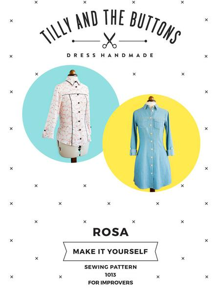 Tilly and the buttons  - Rosa Top