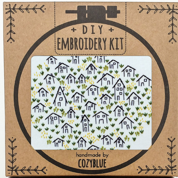 Embroidery Kit: It Takes A Village