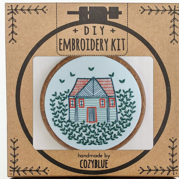 Embroidery Kit: Home Grown