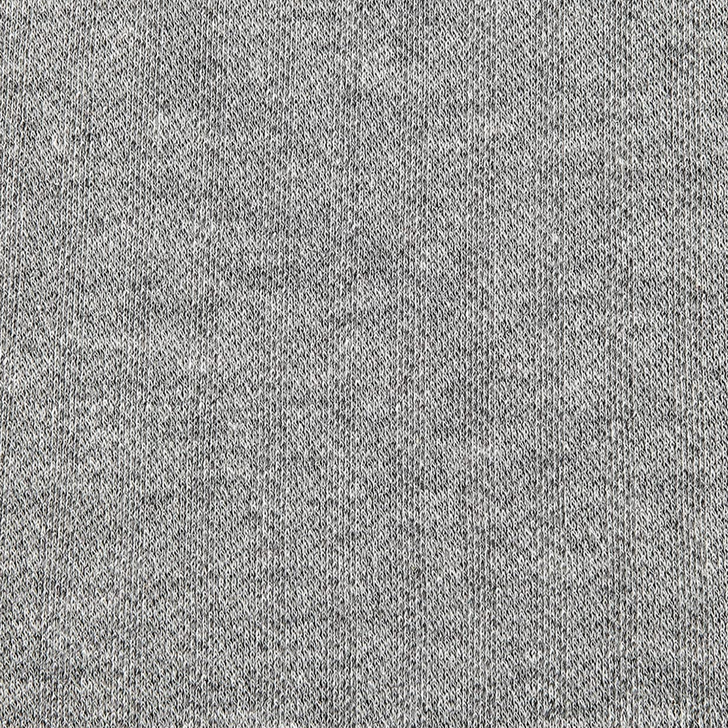 Robert Kaufman knit herringbone heather grey