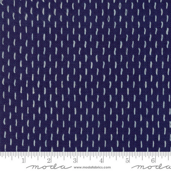 French Sashiko Blue
