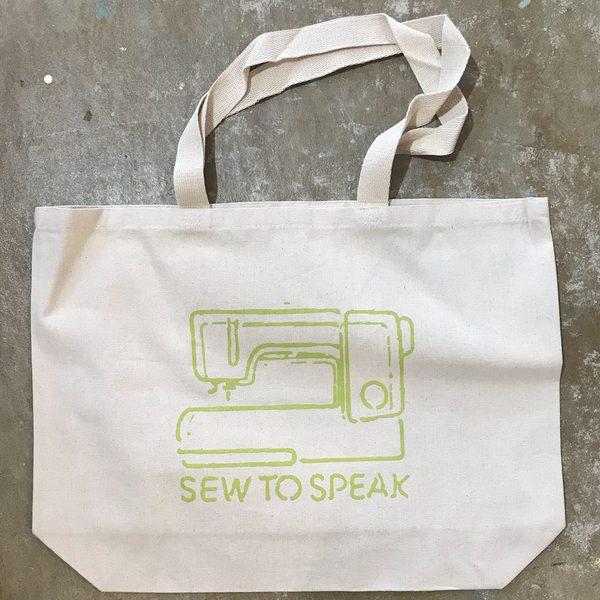 Sew To Speak Tote