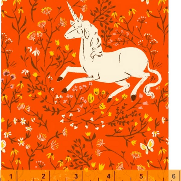 Tiger Lily Unicorns- 20th Anniversary Fabric