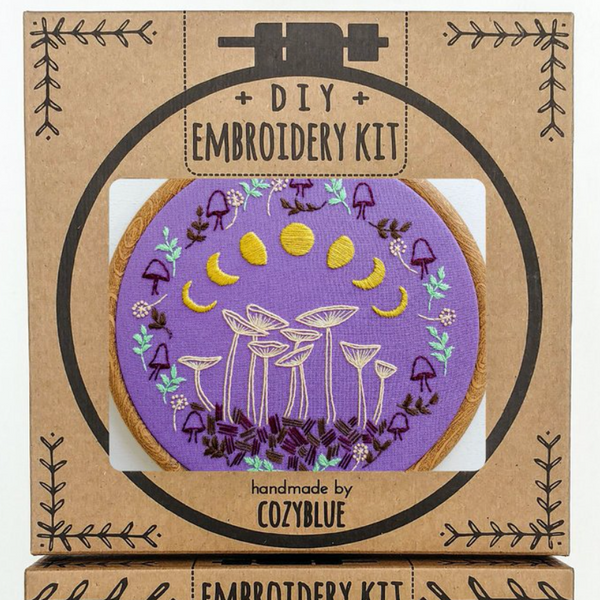 Embroidery Kit: Fairy Ring