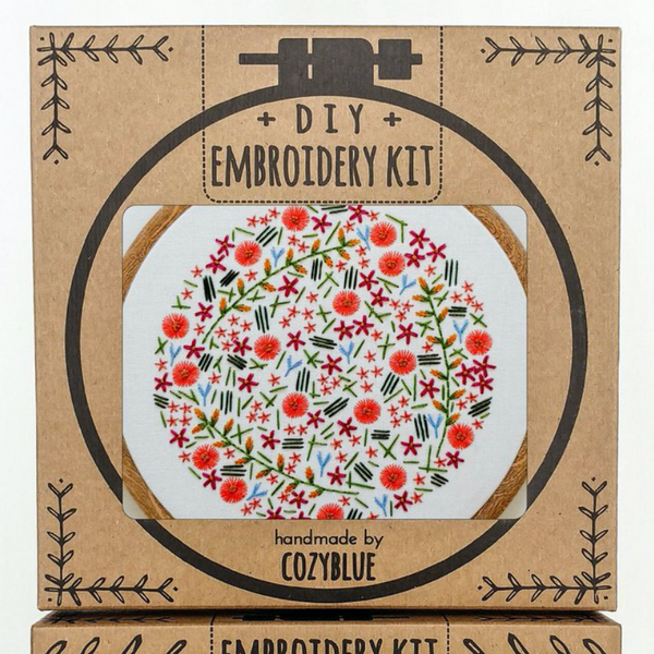 Embroidery Kit: Wildflower Meadow