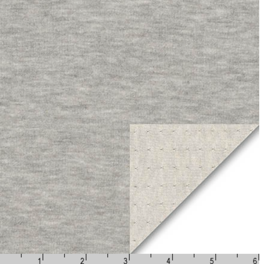 Grey Double Layer Jersey