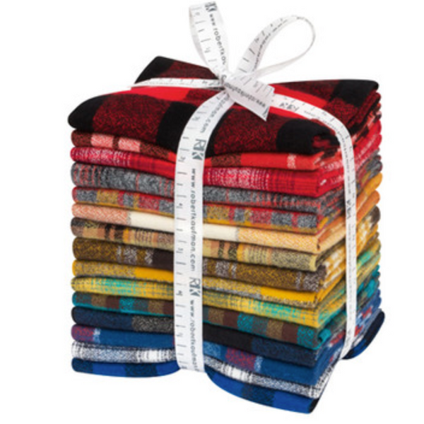 Mammoth Flannel Bundle, Rainbow Color Story