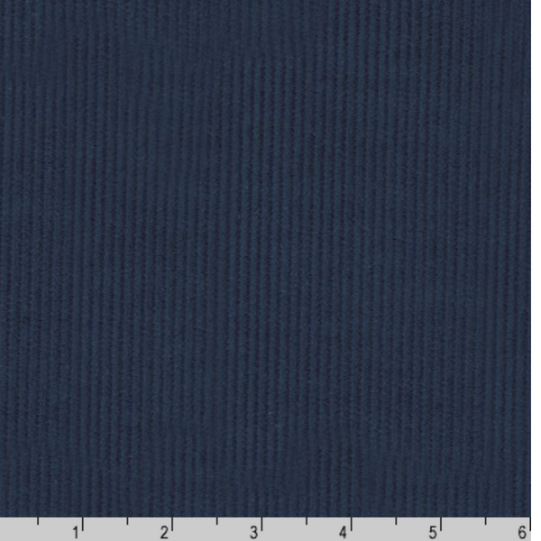 Corduroy in Navy