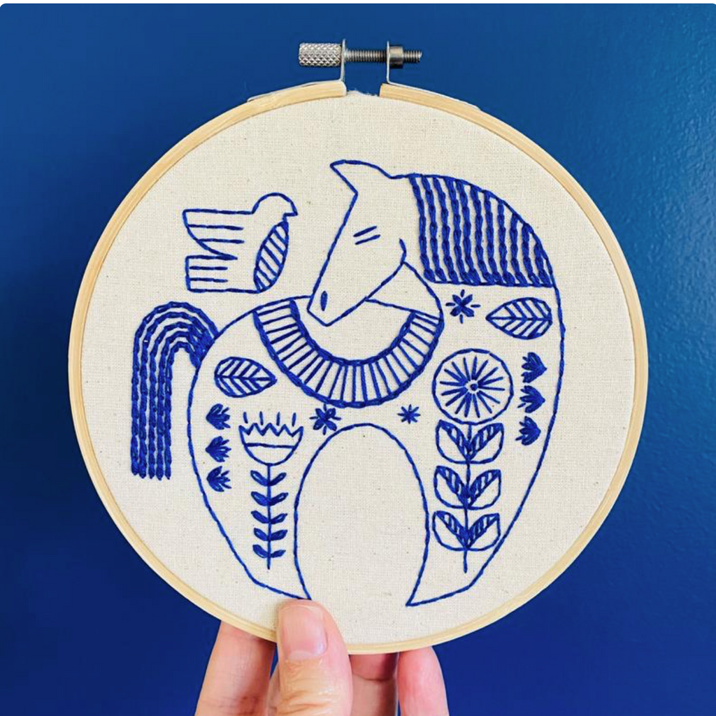 Embroidery Kit: Hygge Horse