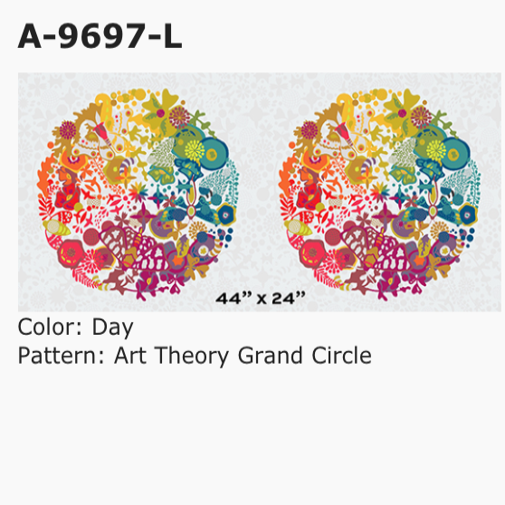 Art Theory: Grand Circle in Day - 24 inch Repeat