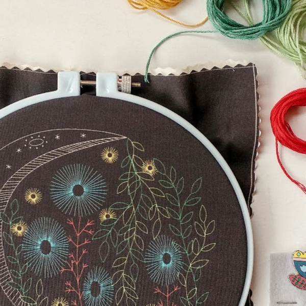 Embroidery Kit: Night Garden