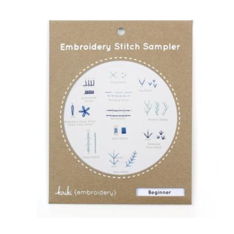 Beginner - Embroidery Stitch Sampler