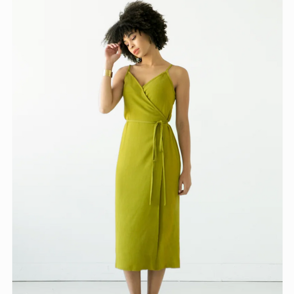 Calvin Wrap Dress