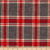 Mammoth Flannel: Red and Grey