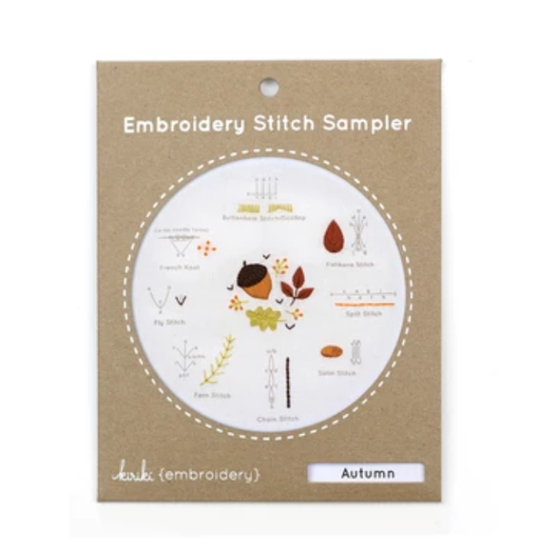 Embroidery Stitch Sampler: Autumn