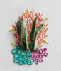 Embroidery Stitch Sampler: Coral Reef