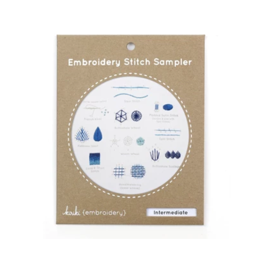 Embroidery Stitch Sampler: Intermediate