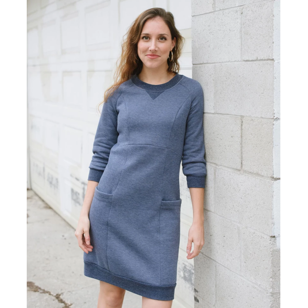 Lola Sweater Dress by Victory Patterns