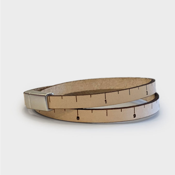 Thin Wrist Ruler: Natural
