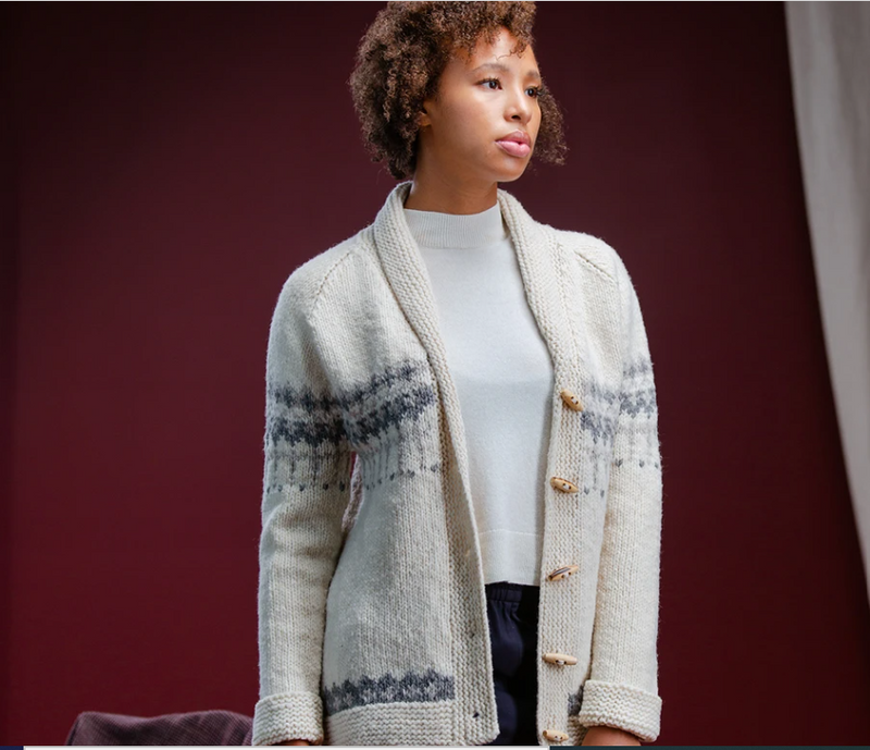 Brooklyn Tweed - Pascal Cardigan Knitting Pattern