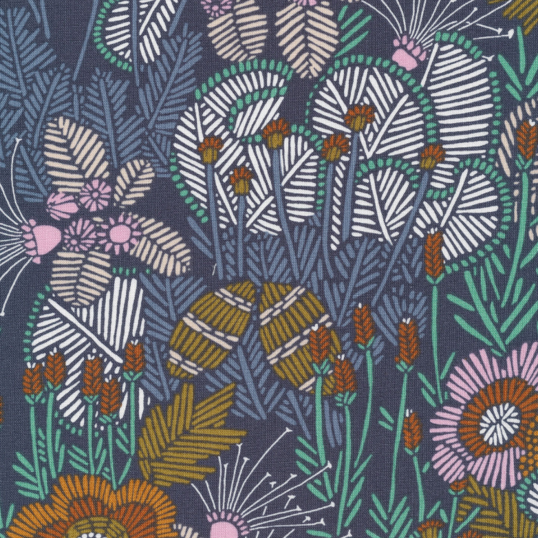 Grasslands: Embroidered Floral