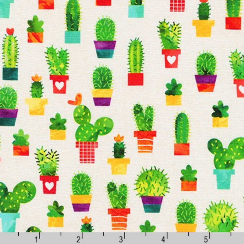 Chili Smiles: Cacti in Ivory