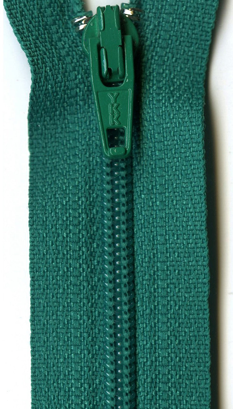 "9"" Closed End Zipper - Multiple Colors"