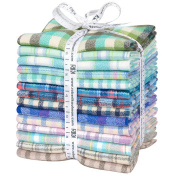 Mammoth Junior Flannel Bundle, Cool Color Story