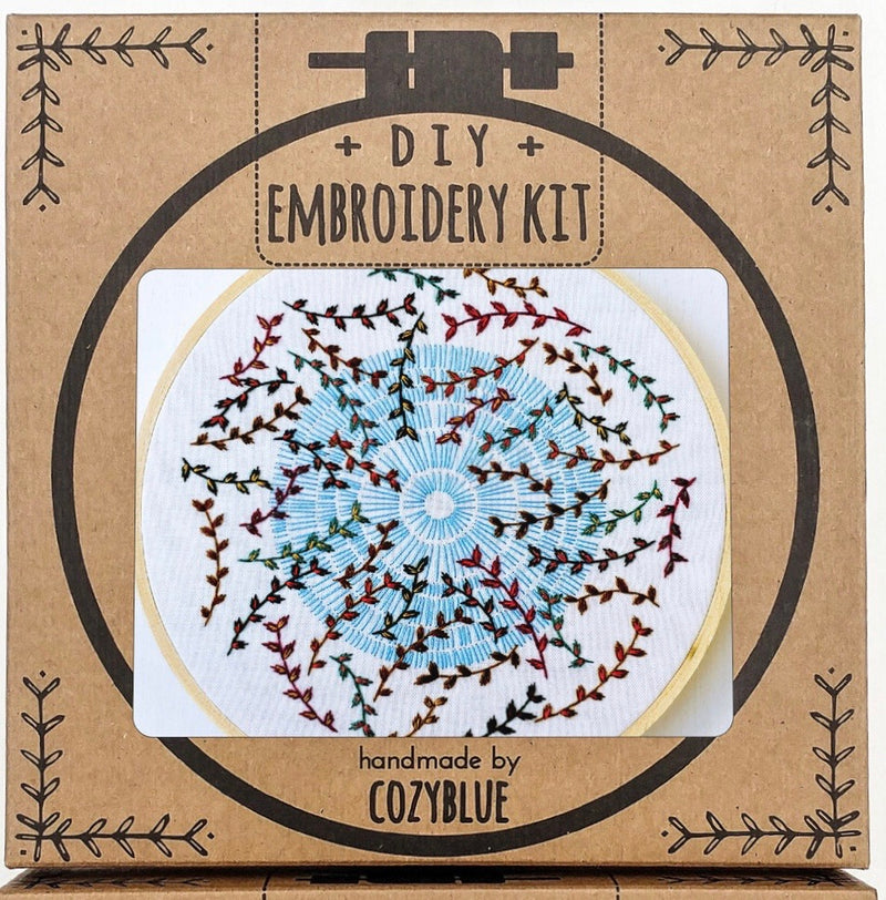 Embroidery Kit: Sky Song