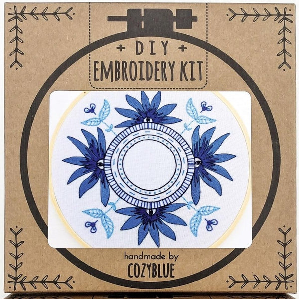 Embroidery Kit: Blue Eyes