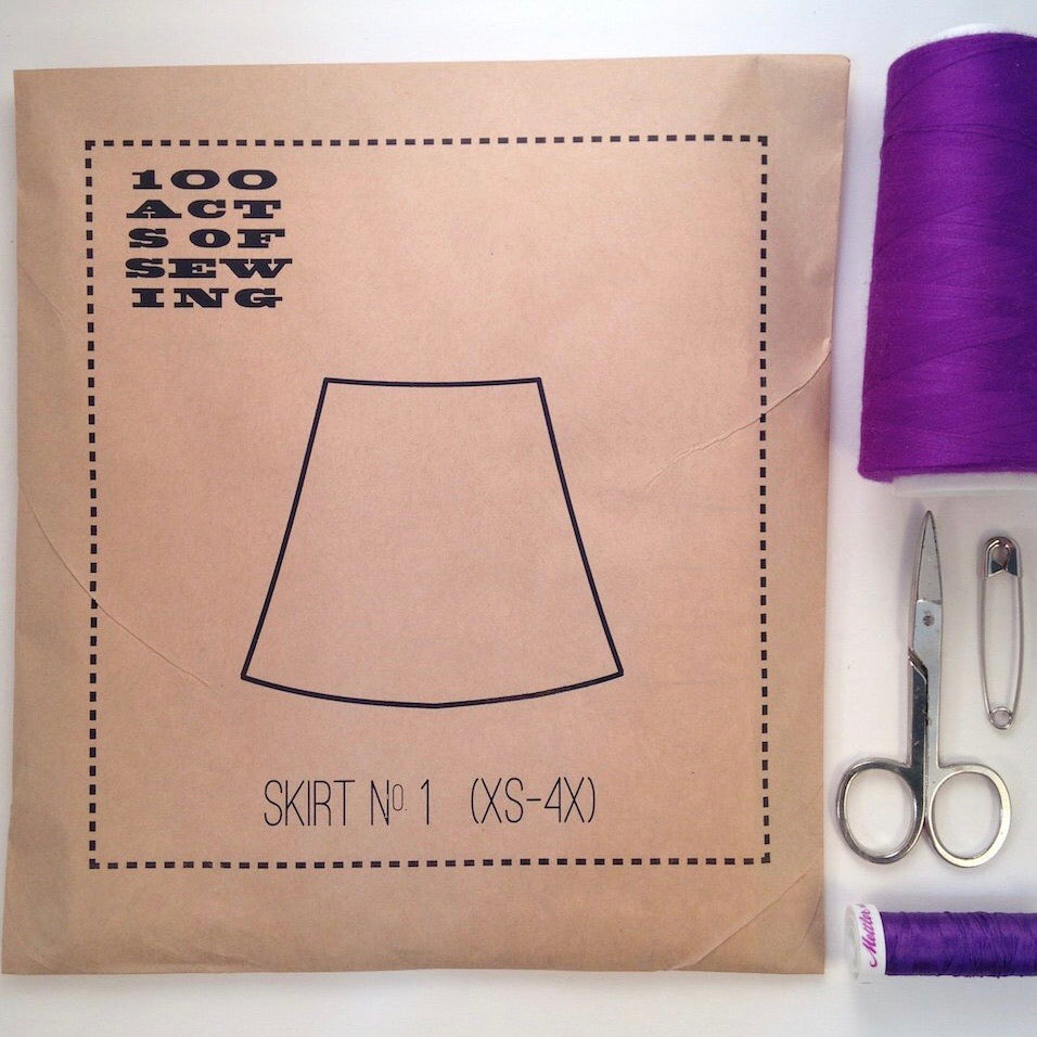 100 Acts of Sewing - Skirt No. 1
