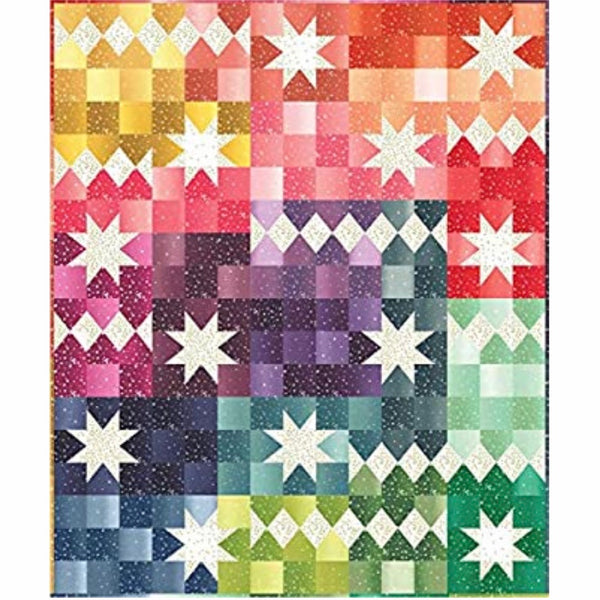 Ombre Bloom Quilt Kit Designed by V and Co.