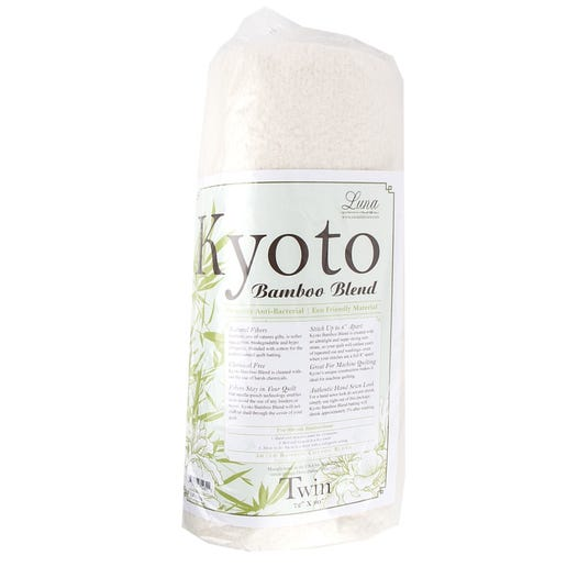 Kyoto Bamboo Blend Batting - Twin