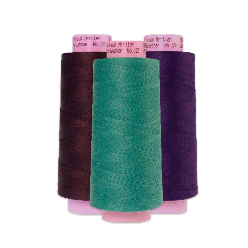 Seracor Polyester Serger Thread - Multiple Colors