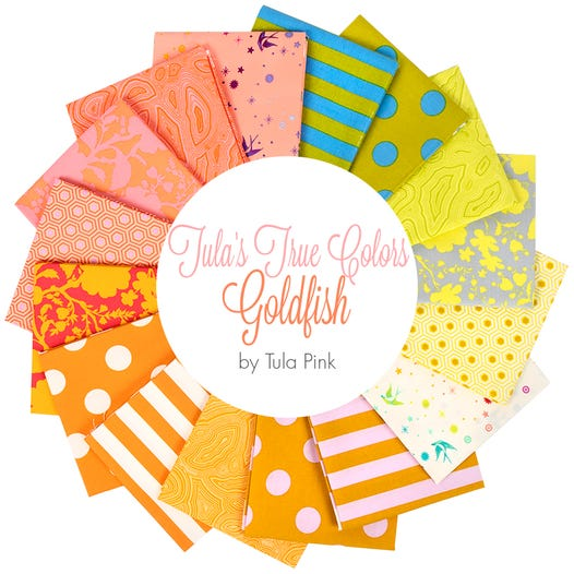 Tula's True Colors: Goldfish Fat Quarter Bundle