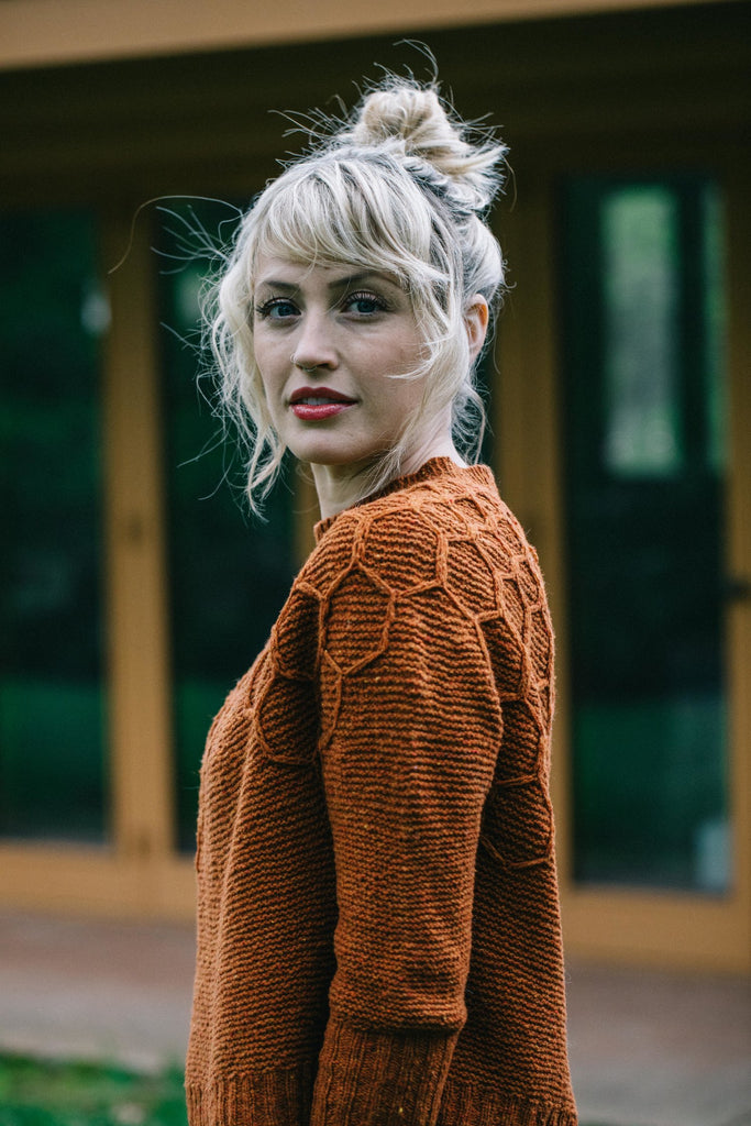 Wool & Honey - Printed Pattern by Drea Renee Knits