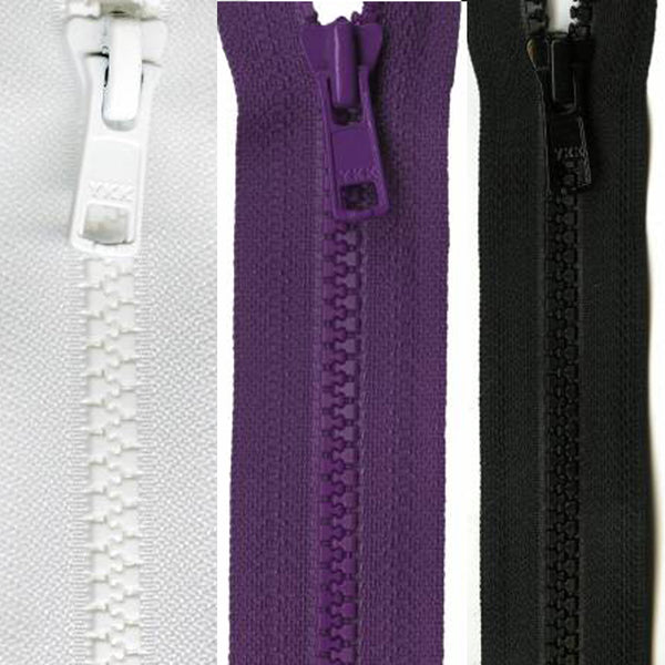 Vislon 10 Inch Separating Zipper - Multiple Colors