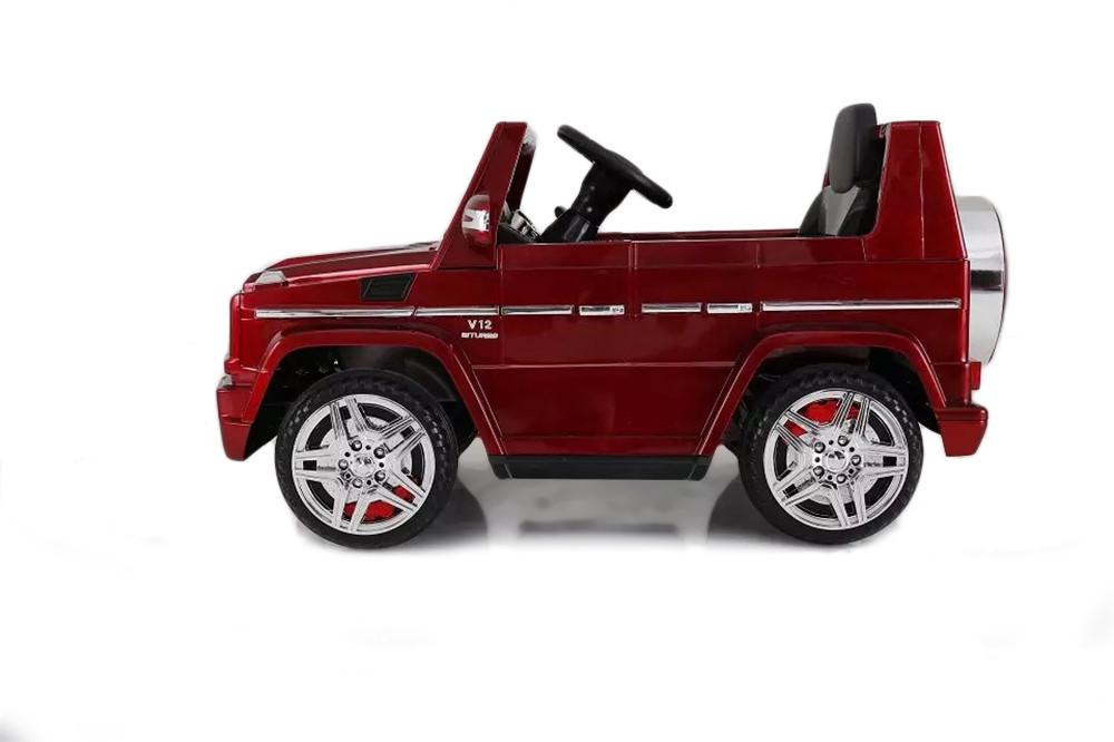 12V 7Ah Battery Powered Mercedes-Benz G65 Licensed Twin Motor Electric Ride on Toy Car  (Model: LS528 ) RED