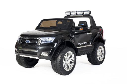 Latest 2015 Model FORD RANGER Licensed 4x4 Kids Electric Ride On Car with Remote Control LED Lights and Music (F650) BLACK