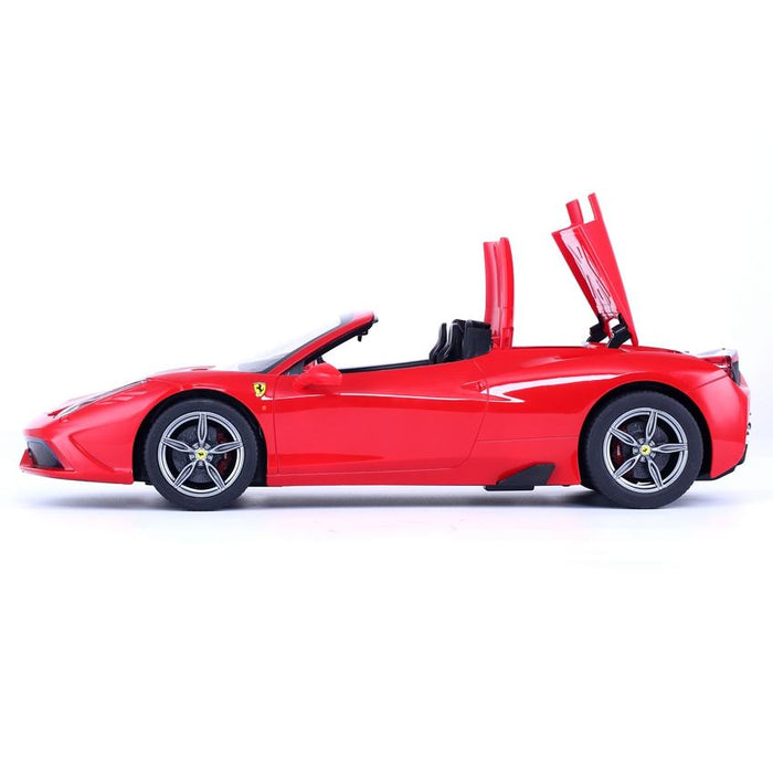 RASTAR RC74500 Genuine Licensed 1: 14 RC Ferrari 458 Speciale A Licensed Convertible Radio Remote Control Car Red - GADGET EXPRESS®