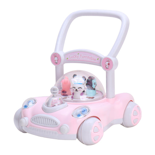 Baby Walker with Rotating Cartoon Characters ( Sit to Stand 2 Colours )